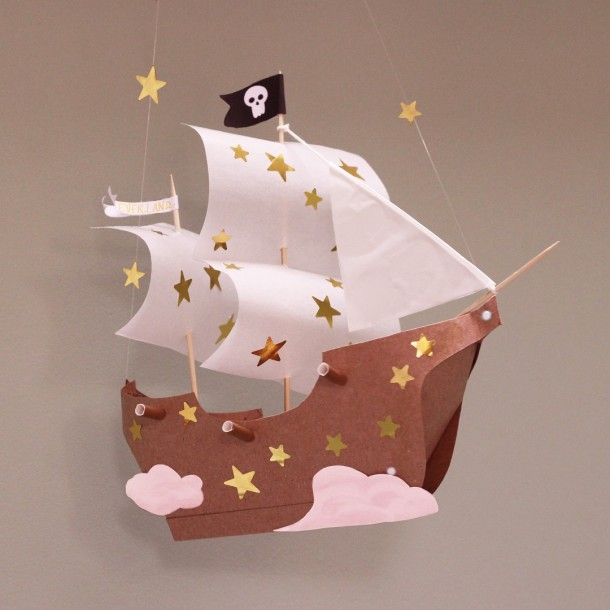 bateau de peter pan atelier imaginaire