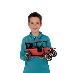 la voiture 3D sassi
