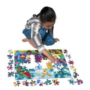 puzzle la vie sur la terre eeboo