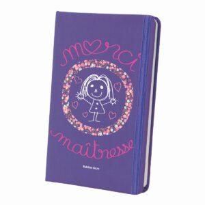 carnet violet merci maitresse
