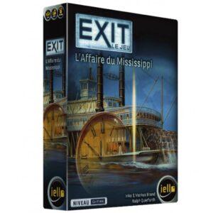 """Exit est un jeu d'énigmes coopératif qui reprend les sensations des """"Escape Games"""". Muni d'indices, de matériels et d'un décodeur, vous aurez pour mission de sortir du jeu le plus rapidement possible. Plus qu'un jeu, Exit est une expérience unique et immersive dans laquelle vous devrez faire preuve de coopération, d'observation et de logique."""