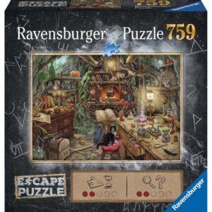 escape puzzle cuisine de sorciere