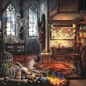 eccape puzzle l'antre du dragon