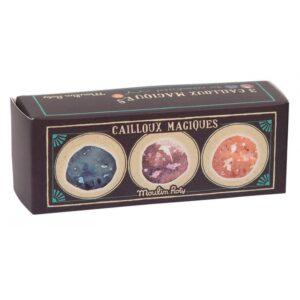 3 balles rebondissantes cailloux magiques