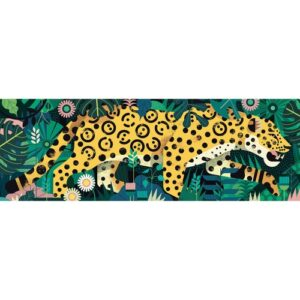 puzzle gallery leopard djeco
