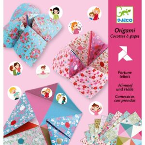 origami cocottes à gages fleurs djeco