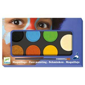 palette de maquillage 6v couleurs natures