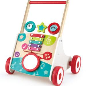 chariot de marche musical hape