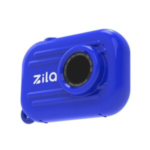 appareil photo bleu zila kidywolf