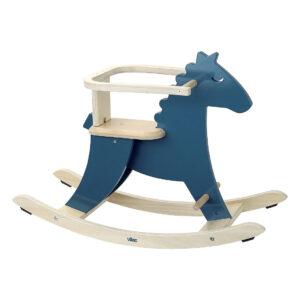 Venez découvrir le magnifique cheval à bascule et son arceau hudada bleu de la marque Vilac . Ce superbe cheval deviendra le compagnon favori de votre enfant. Avec son arceau, votre enfant sera toujours en sécurité. L'arceau est amovible et peut être enlevé quand l'enfant grandi.