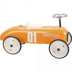 porteur voiture vintage orange vilac